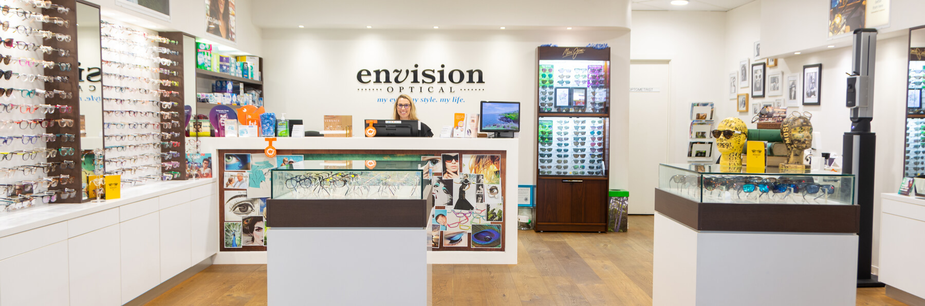 Envision Optical Front Office